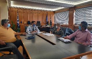Ενημερωτική συνάντηση στην Περιφερειακή Ενότητα Ηλείας για μέτρα προστασίας στις σχολικές μονάδες