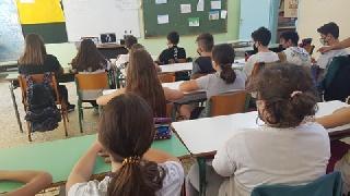 Δημοτικό Σχολείο Σκουροχωρίου: Τηλεδιάσκεψη με την Ολυμπιονίκη Μαρία Τσουρή