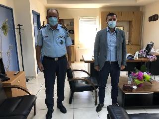 Συνάντηση Ανδρέα Νικολακόπουλου με τον Αστυνομικό Διευθυντή Ηλείας