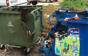 Μήνυση από το Δήμο Ήλιδας για τους εμπρησμούς κάδων απορριμμάτων
