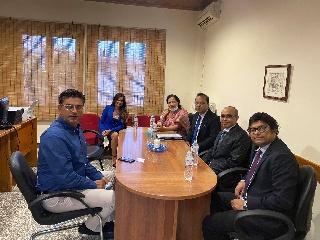 Επίσκεψη του νέου Πρέσβη του Μπαγκλαντές στην Ελλάδα στον Δήμαρχο Ανδραβίδας-Κυλλήνης
