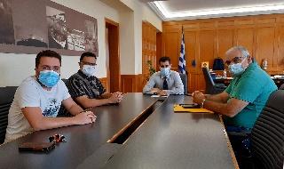 Συνάντηση Αντιπεριφερειάρχη Ηλείας με εκπροσώπους του εμπορικού κόσμου