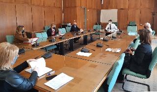 Υπηρεσιακή Σύσκεψη Αντιπεριφερειάρχη Π.Ε Ηλείας Β. Γιαννόπουλου με Διευθυντές Υπηρεσιών