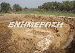 Αποκάλυψη οκτώ τάφων σε σωστική ανασκαφική έρευνα  στο Αυγείο Αμαλιάδας