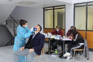 Προληπτικά «rapid test» στους εργαζόμενους του Δήμου Ήλιδας