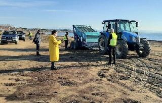 Μεγάλη εκστρατεία καθαρισμού της παραλίας Κατακόλου