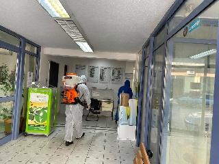 Απολύμανση σε όλα τα Δημοτικά Κτίρια του Δήμου Ανδραβίδας - Κυλλήνης λόγω επιβεβαιωμένου κρούσματος