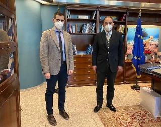 Συνάντηση Αντιπεριφερειάρχη Ηλείας με τον Υπουργό Ναυτιλίας