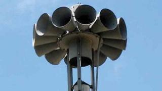 Δοκιμαστική ήχηση των σειρήνων της Πολιτικής Προστασίας στην Αμαλιάδα