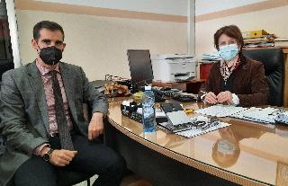 Επίσκεψη Αντιπεριφερειάρχη Ηλείας στο Τμήμα Μεταφορών και Επικοινωνιών Αμαλιάδας