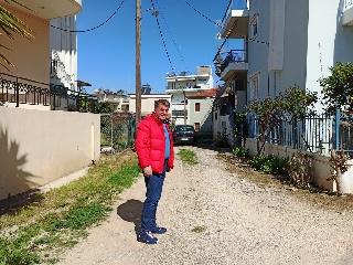 Ο Δημήτρης Κωνσταντόπουλος στις γειτονιές της Αμαλιάδας !