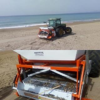 Δήμος Πηνειού: Αναλαμβάνει δράση το μηχάνημα καθαρισμού των παραλιών