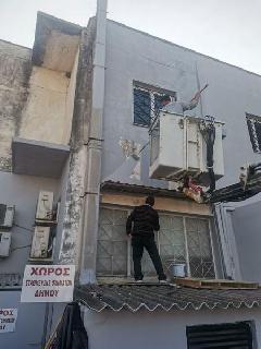 Εργασίες συντήρησης και αποκατάστασης στα Δημοτικά κτίρια του Δήμου Ανδραβίδας-Κυλλήνης.