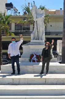Ο ΣΥΡΙΖΑ Ήλιδας τίμησε την Εργατική Πρωτομαγιά