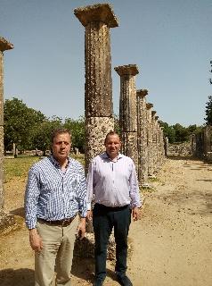 Γεωργιόπουλος:  «Ασφαλής τουριστικός προορισμός η Αρχαία Ολυμπία»