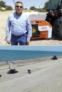 Καθαρές και ασφαλείς παραλίες είναι και για φέτος το καλοκαίρι ο στόχος του Δήμου Πηνειού.