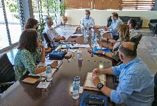 Σύσκεψη στο Δήμο Αρχαίας Ολυμπίας για το παγκόσμιο συμπόσιο του CISM το φθινόπωρο