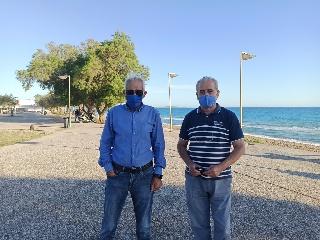 «Επέστρεψε» η Γαλάζια Σημαία στην παραλία της Κουρούτας