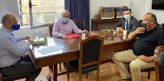 Συνάντηση Ομάδας Παραγωγών και Ανδρέα Νικολακόπουλου με Υφυπουργό Αγροτικής Ανάπτυξης
