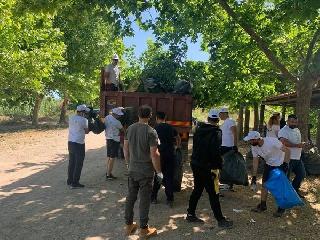 ΔΗΜΟΣ ΠΥΡΓΟΥ: Δράση καθαρισμού στο  Πάρκο Αλφειού