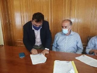 Υπεγράφη η σύμβαση με τον ανάδοχο για την «Αστική ανάπλαση ιστορικού κέντρου Πύργου»