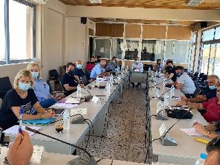 Σύσκεψη για την αντιπυρική θωράκιση  του Δήμου Ανδραβίδας - Κυλλήνης